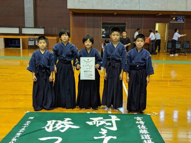 第55回宮崎県スポーツ少年団中央大会女子